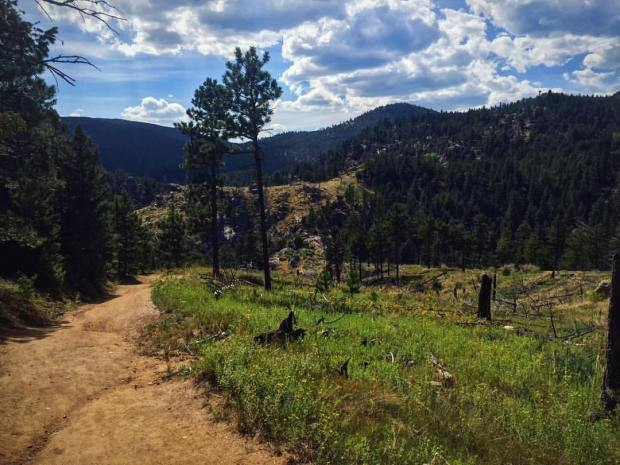 Running the Walker Ranch loop trail